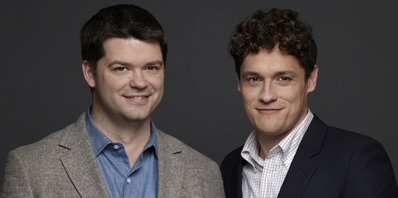 Da sinistra a destra: Chris Miller e Phil Lord