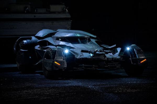 La Batmobile di Batman v Superman: Dawn of Justice