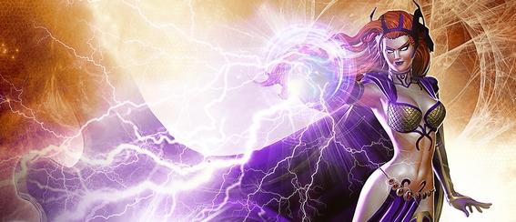 Circe in un'immagine promozionale del MMORPG DC Universe Online
