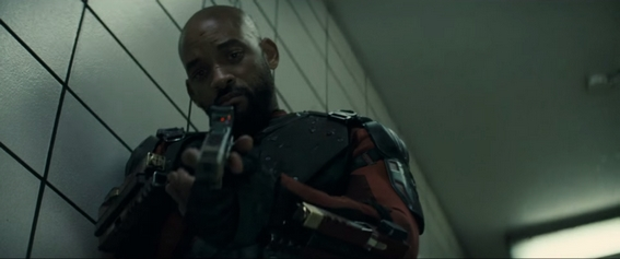 Deadshot (Will Smith) nel trailer di Suicide Squad