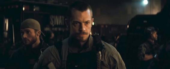 Rick Flag (Joel Kinnaman) nel trailer di Suicide Squad