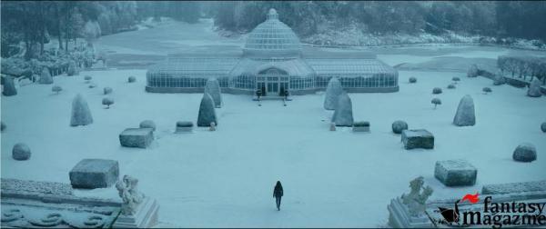 La villa del Presidente Snow