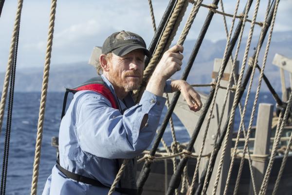 Ron Howard sul set di Heart of the Sea – Le origini di Moby Dick