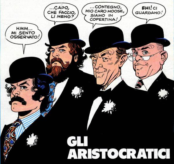 Gli Aristocratici, serie sceneggiata da Alfredo Castelli