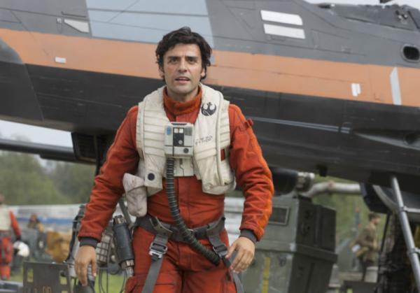 Oscar Isaac è Poe Dameron in Star Wars: il risveglio della Forza