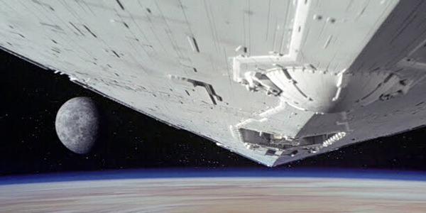 La sequenza iniziale di Guerre Stellari