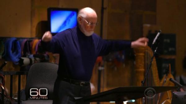 John Williams dirige la colonna sonora di Star Wars: il risveglio della Forza.