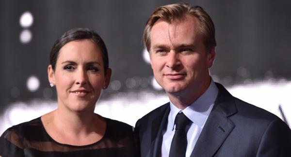 Christopher Nolan con la moglie e produttrice cinematografica Emma Thomas