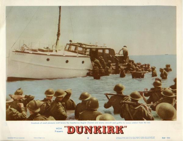 Locandina di Dunkirk (1958) di Leslie Norman