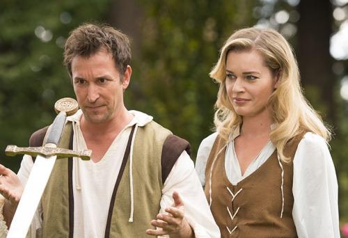 Noah Wyle e Rebecca Romijn