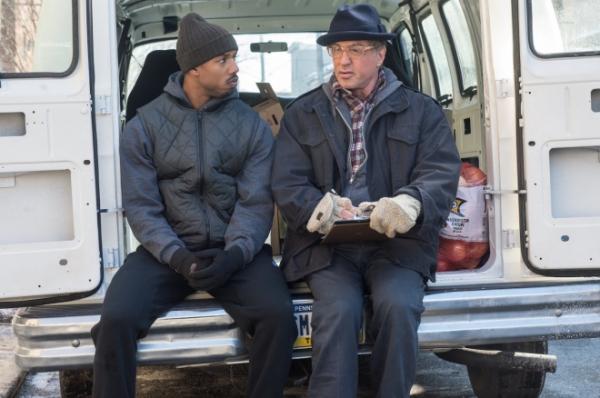 Michael B. Jordan e Sylvester Stallone