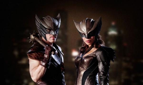 Hawkman e Hawkgirl in Legends of Tomorrow
