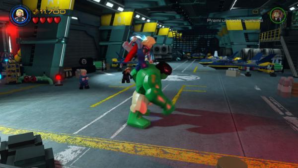 La lotta tra Thor e Hulk, tratta da The Avengers