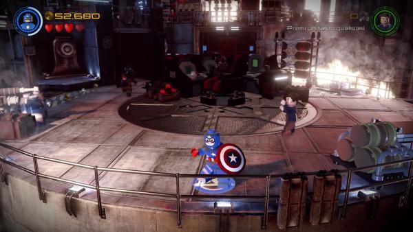 Una delle missioni secondarie dedicata a Captain America