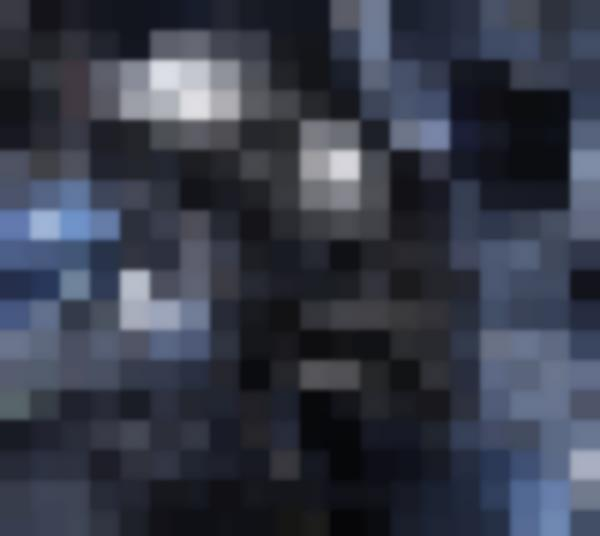L'interno del cappuccio del Batsuit