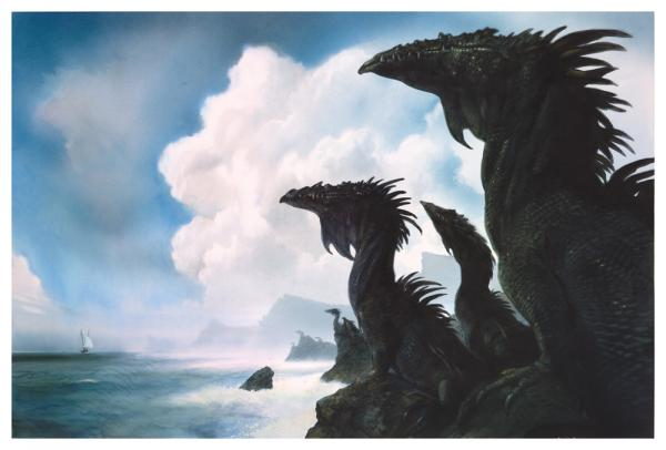 The Dragons of Earthsea – John Howe