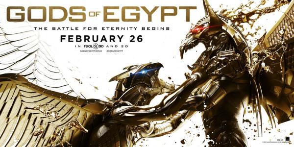 Il fantastico Character Design delle divinità egizie