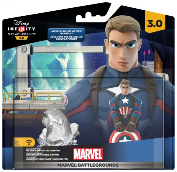 Il play set Marvel Battlegrounds