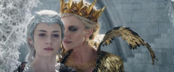 Emily Blunt e Charlize Theron