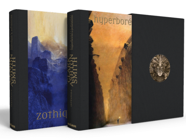 I volumi della nuova edizione francese delle opere di Clark Ashton Smith