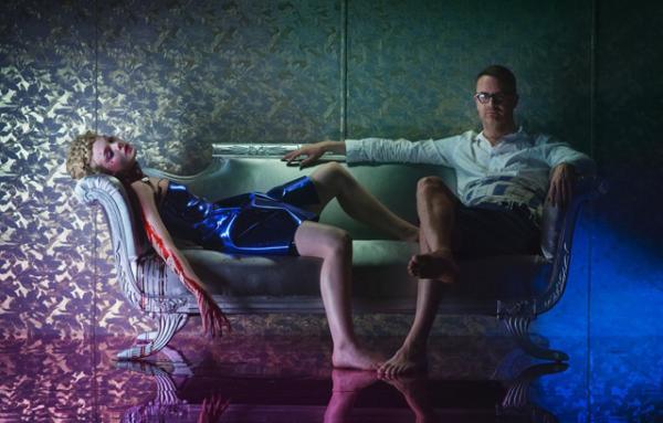 Elle Fanning e Nicolas Winding Refn