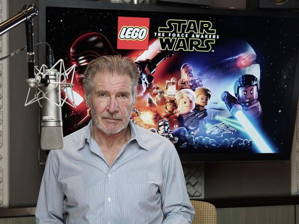 Harrison Ford registra la sua voce per LEGO Star Wars: il risveglio della Forza