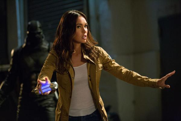 Megan Fox inTartarughe Ninja 2: Fuori dall'ombra