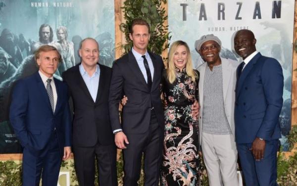Il cast e David Yates