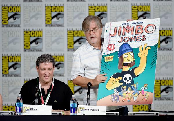 Matt Groening alla San Diego Comic-Con