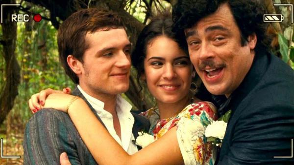 Josh Hutcherson, Claudia Traisac e Benicio del Toro