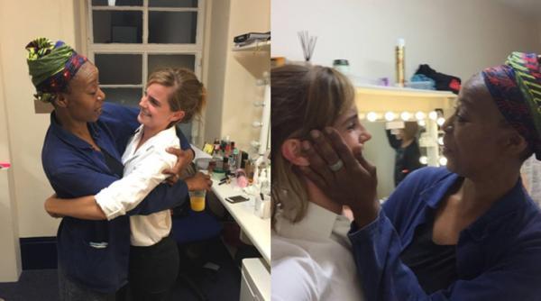 Emma Watson e Noma Dumezweni