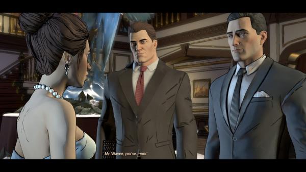 Vicky Vale, Harvey Dent e Bruce Wayne