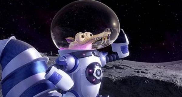 Scrat nello spazio!