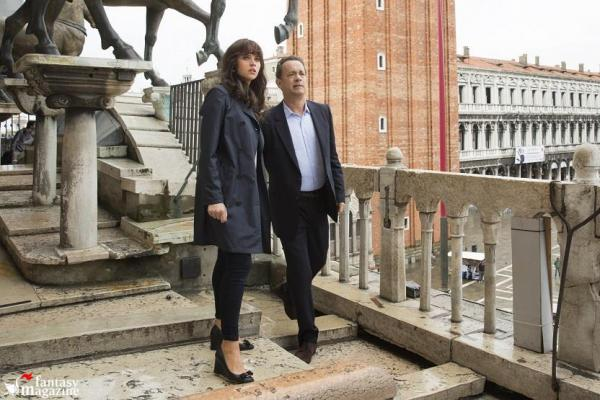 Felicity Jones e Tom Hanks a Firenze