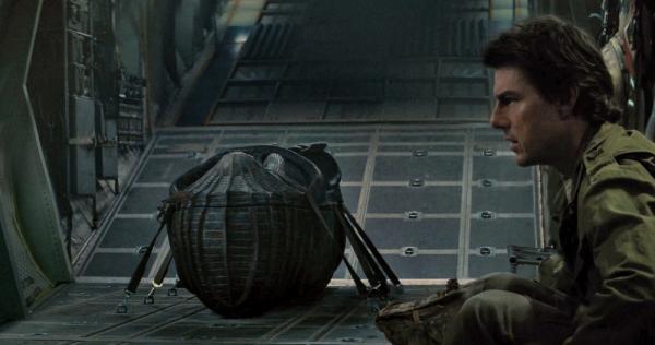 Tom Cruise e il sarcofago della Mummia