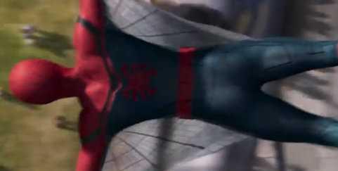 Le ragnatele nel costume di Spider-Man