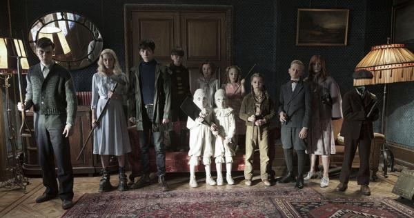 Il cast di Miss Peregrine - La casa dei ragazzi speciali