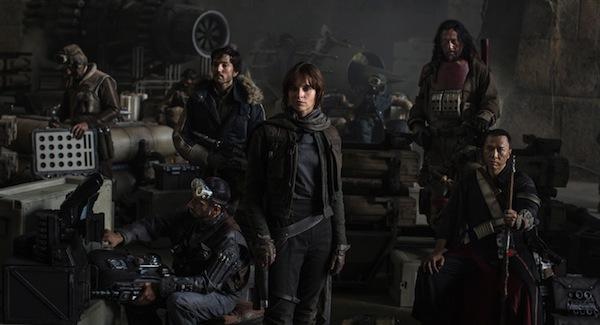 Il cast di Rogue One