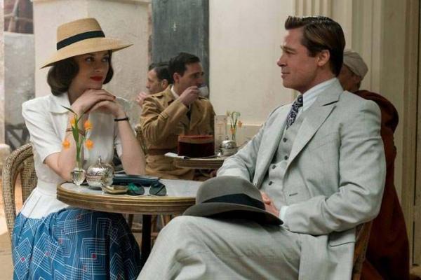 Marion Cotillard e Brad Pitt
