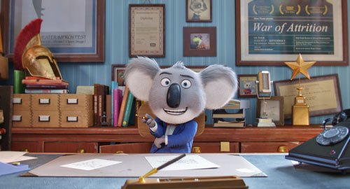 Buster Moon in Sing