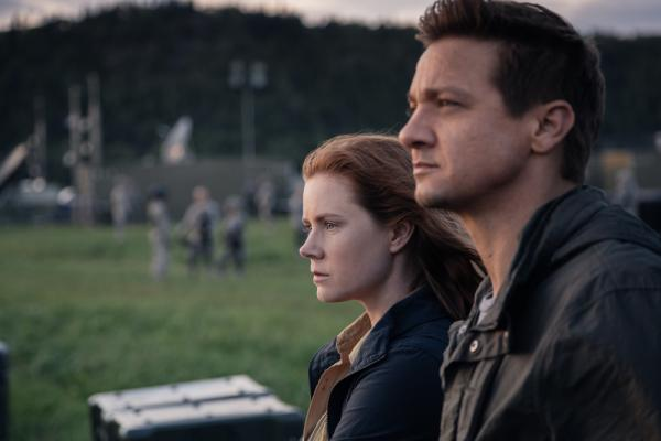 Amy Adams e Jeremy Renner