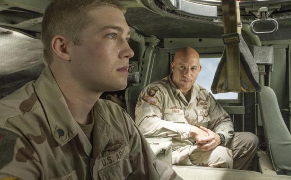 Joe Alwyn e Vin Diesel