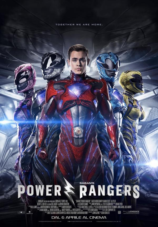 Il poster di Power Rangers
