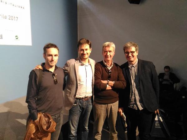 Paolo Barbieri, Emanuele Vietina, Angelo Montanini e Cosimo Lorenzo Pancini