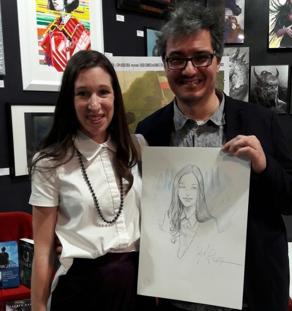 Lauren Kate e Cosimo Lorenzo Pancini