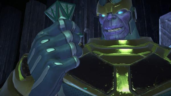 Thanos inMarvel's Guardians of The Galaxy: The Telltale Series