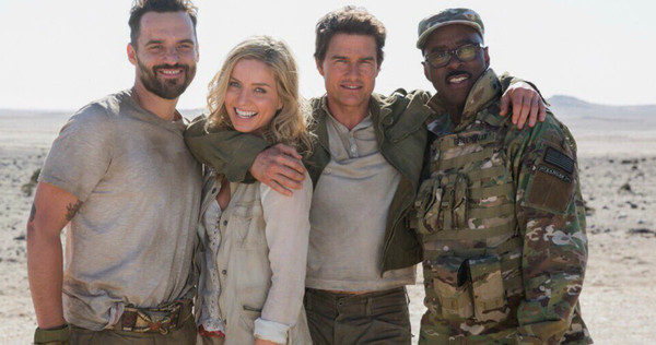 Jake Johnson, Annabelle Wallis, Tom Cruise e Courtney B. Vance
