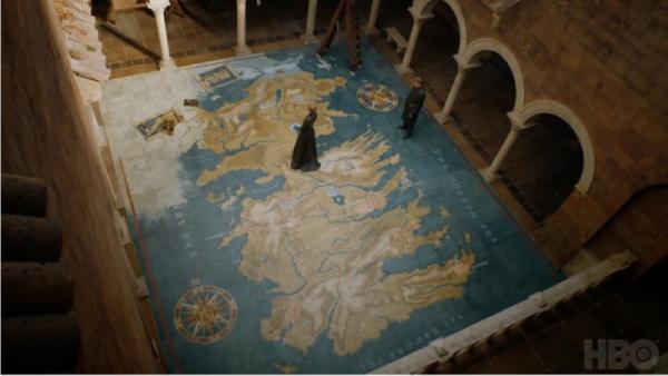 Immagine dal trailer della settima stagione di Il trono di spade