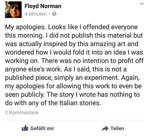 """Le """"scuse"""" di Floyd Norman"""