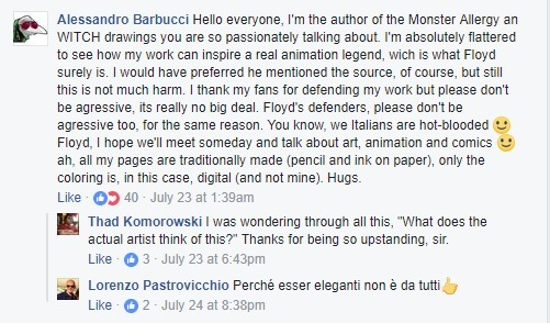 Il commento di Alessandro Barbucci
